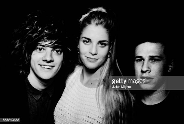 Music Band London Grammar is photographed for Self Assignment on May 2013 in Paris France