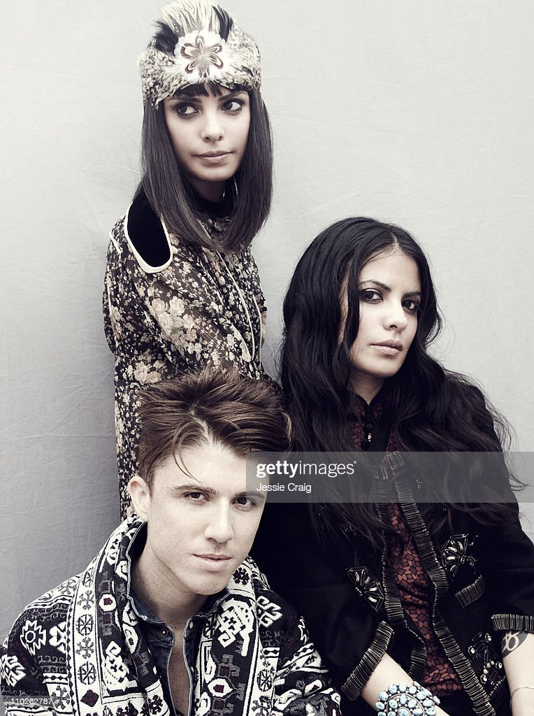 Music band School of Seven Bells photographed for Clash magazine on