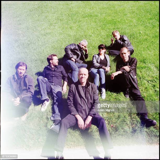 Music Band Tetes Raides is photographed for label Tot ou Tard on December 2013 in Paris France