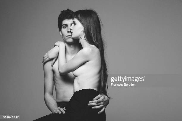 Music Band The Pirouettes is photographed for Self Assignment on December 7 2016 in Paris France