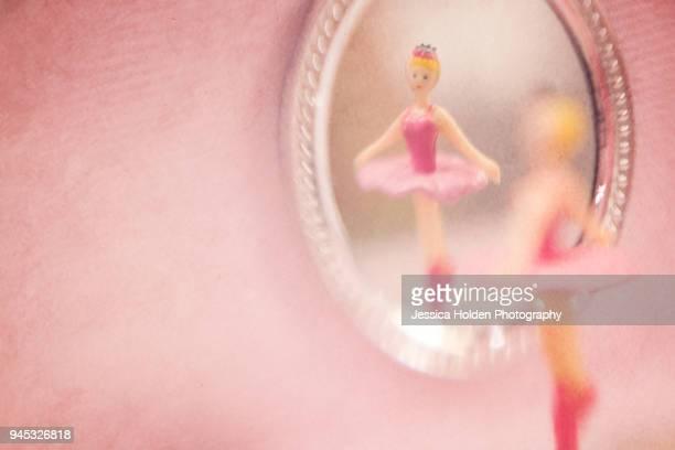 music box dancer in mirror