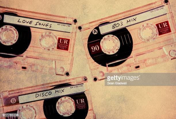 Music cassette tapes