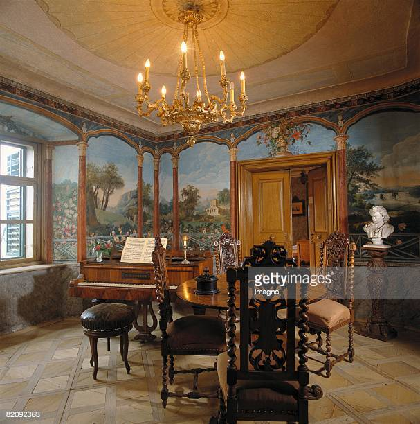 Music chamber of the Beethoven MemorialHouse in Gneixendorf near Krems Lower Austria Photograph Around 2004 [Musikzimmer des Beethoven Gedenkhauses...