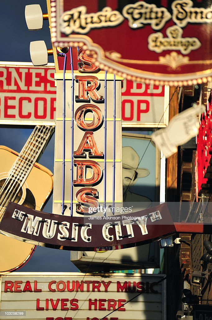 Music City Signs : Stock-Foto
