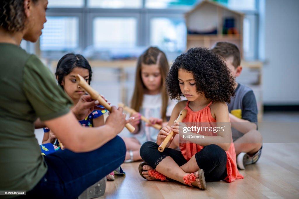 Music class : Stock Photo