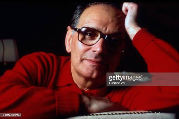 Music composer Ennio Morricone Rome Italy 1991