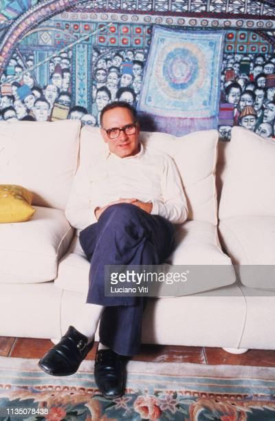 Music composer Ennio Morricone Rome Italy circa 1984