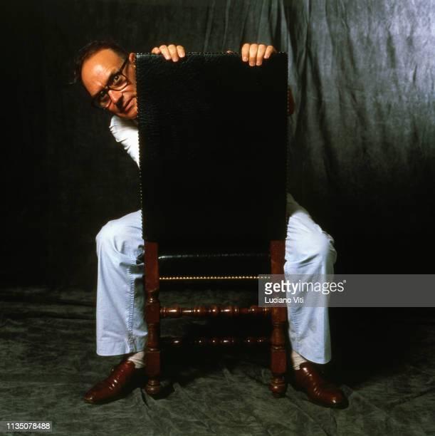 Music composer Ennio Morricone Rome Italy circa 1989