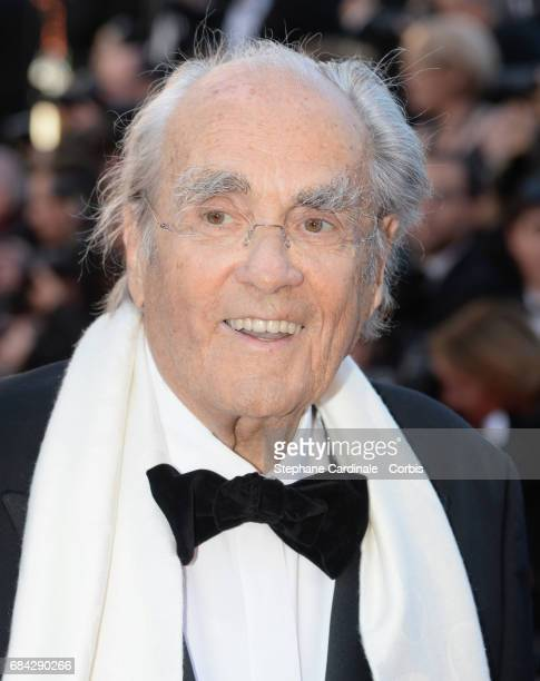 Music composer Michel Legrand attends the Ismael's Ghosts screening and Opening Gala during the 70th annual Cannes Film Festival at Palais des...