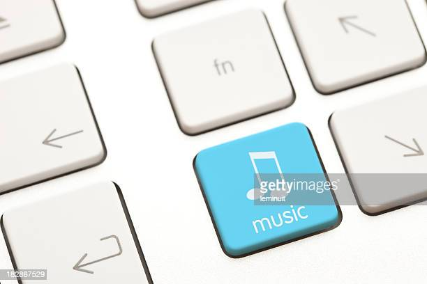 Music computer key