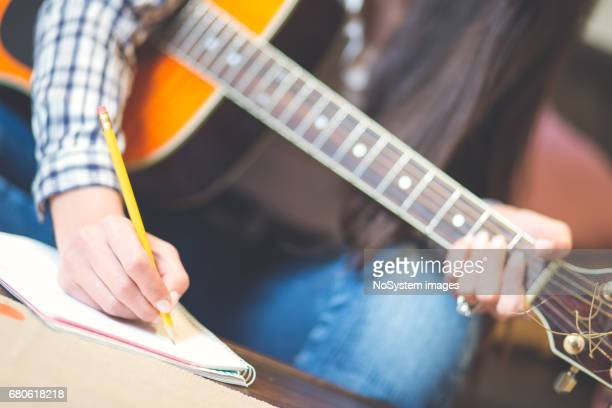 music concept. - songwriter stock pictures, royalty-free photos & images