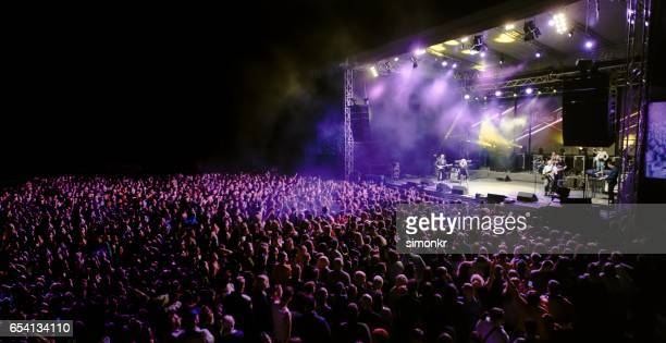 music concert - concert stock pictures, royalty-free photos & images