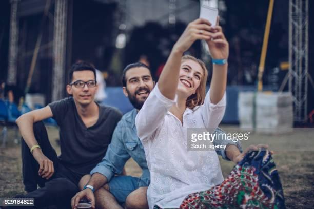 Musik Konzert selfie