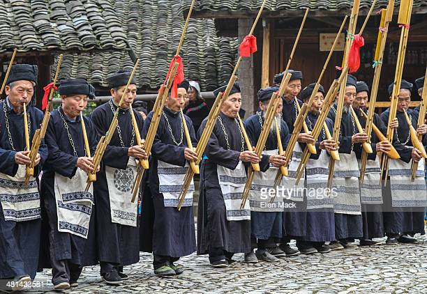 CONTENT] Music dance and festivals are integral to Miao culture The flute is a favored instrument and the Miao make their own out of bamboo Langde...