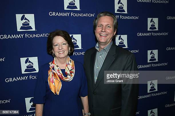 Music Educator Award recipient Phillip Riggs and Carol Riggs attend the GRAMMY Foundation¨Õs annual GRAMMY In The Schools Live Ð A Celebration of...