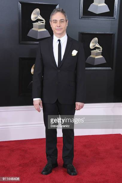 Music engineer Joao Carvalho attends the 60th Annual GRAMMY Awards at Madison Square Garden on January 28 2018 in New York City