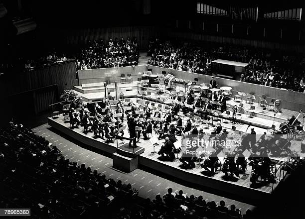 6th October 1971, The Chicago Symphony Orchestra playing at the Royal Festival Hall, London