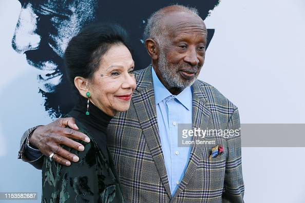 Clarence Avant with gracious, Wife Jacqueline Avant