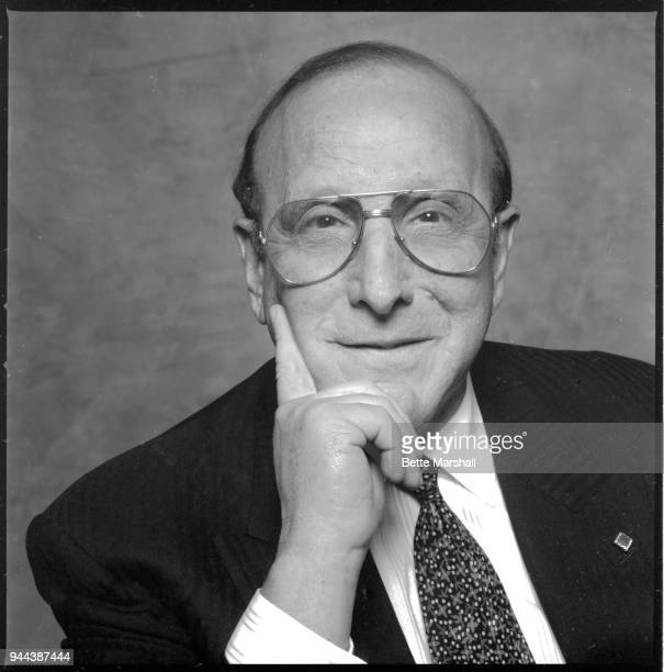 Music executive Clive Davis is photographed for Avenue Magazine in September 1994 in New York City