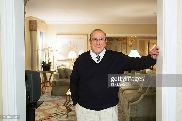 Music executive Clive Davis is photographed for Los Angeles Times on January 21 2014 in Beverly Hills California PUBLISHED IMAGE CREDIT MUST BE Kirk...