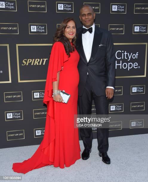 Music executive Jon Platt and Angie Platt attend the City of Hope Gala 2018 in Santa Monica, California, on October 11, 2018.