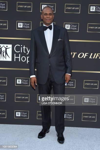 Music executive Jon Platt attends the City of Hope Gala 2018 in Santa Monica, California, on October 11, 2018.