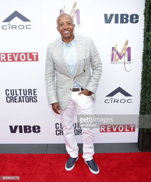 Music executive Kevin Liles attends Culture Creators 2nd Annual Awards Brunch Presented By Motions Hair And Ciroc at Mr C Beverly Hills on June 24...