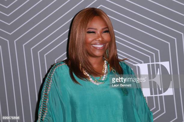 Music executive Mona ScottYoung arrived at the 2017 BET Awards 'PRE' at The London West Hollywood on June 21 2017 in West Hollywood California