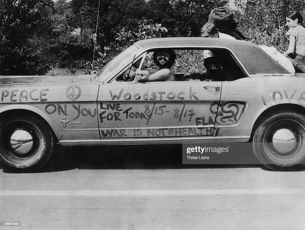Peace Car : News Photo