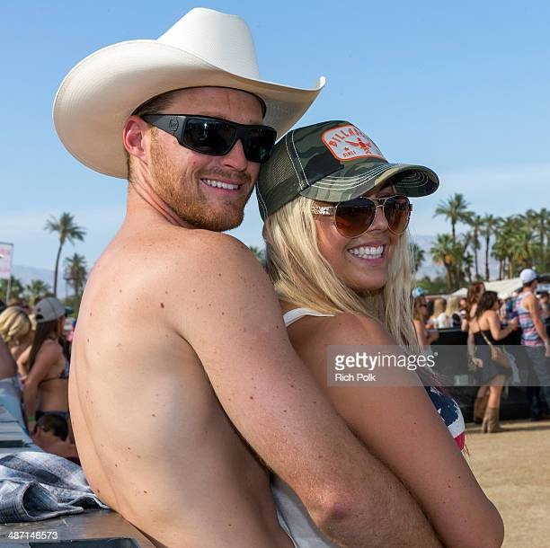 Music fans attend day 3 of 2014 Stagecoach: California's Country Music Festival at the Empire Polo Club on April 27, 2014 in Indio, California.