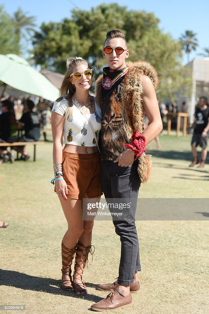 Music fans attend day 3 of the 2016 Coachella Valley Music & Arts Festival at the Empire Polo Club on April 17, 2016 in Indio, California.