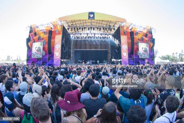 music festival - stage stock photos and pictures