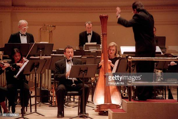 'Music from Japan' performed by Brooklyn Philharmonic Orchestra at Carnegie Hall on Thursday night November 9 2000This imageDerek Bermel on clarinet...