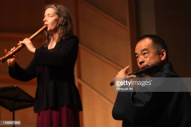 Music from Japan presents Flutes From the East and the West at Baruch Performing Arts Center on Saturday night February 12 2011This imageElizabeth...