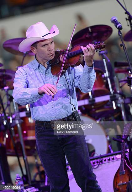 Music group Asleep at the Wheel performs onstage at George Strait's 'The Cowboy Rides Away Tour' final stop at ATT Stadium at ATT Stadium on June 7...
