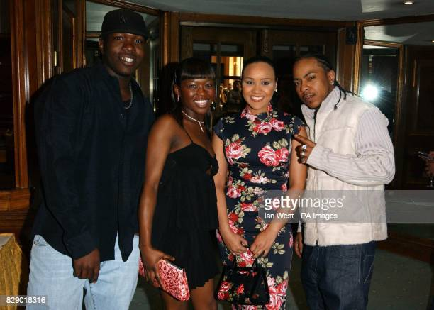 Music group Big Brovas during the Ethnic Multicultural Media Academy awards nominations party at Grosvenor House Hotel in central London The 7th...