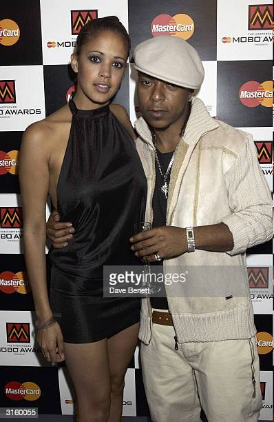 Music group Big Brovaz at the MOBO Nominations at the Tantra Nightclub on February 8 2003 in Soho London