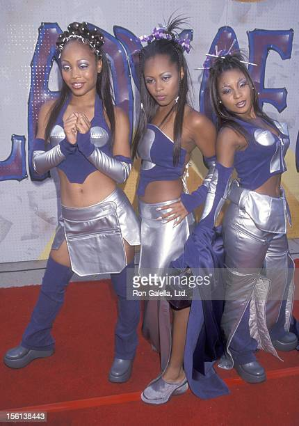 RB music group Blaque attends the Fifth Annual Soul Train Lady of Soul Awards on September 3 1999 at Santa Monica Civic Auditorium in Santa Monica...