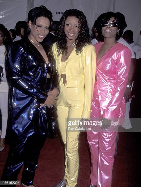 RB music group Brownstone attends the 10th Annual Soul Train Music Awards on March 29 1996 at Shrine Auditorium in Los Angeles California