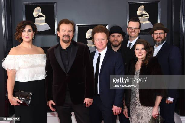 Music group Casting Crowns attends the 60th Annual GRAMMY Awards at Madison Square Garden on January 28 2018 in New York City