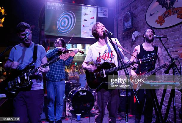 Music group Dry the River performs onstage at the 2011 SXSW Music Film Interactive Festival Campfire Trails Showcase at The Bat Bar on March 15 2011...
