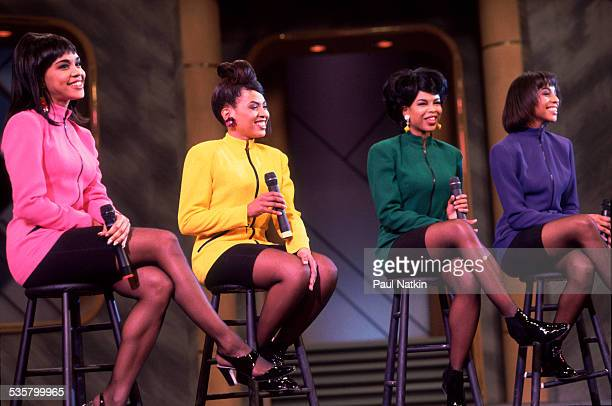 Music group En Vogue performs at the Oprah Winfrey Show Chicago Illinois February 26 1991
