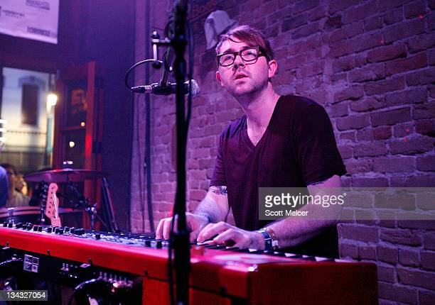 Music group Fences performs onstage at the 2011 SXSW Music Film Interactive Festival Campfire Trails Showcase at The Bat Bar on March 15 2011 in...