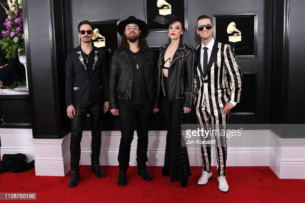 61st Annual Grammy Awards: Lzzy Hale Stock Photos And Pictures