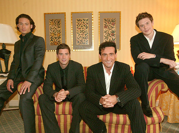 Il divo pose for portraits in brussels photos and images - Divo music group ...