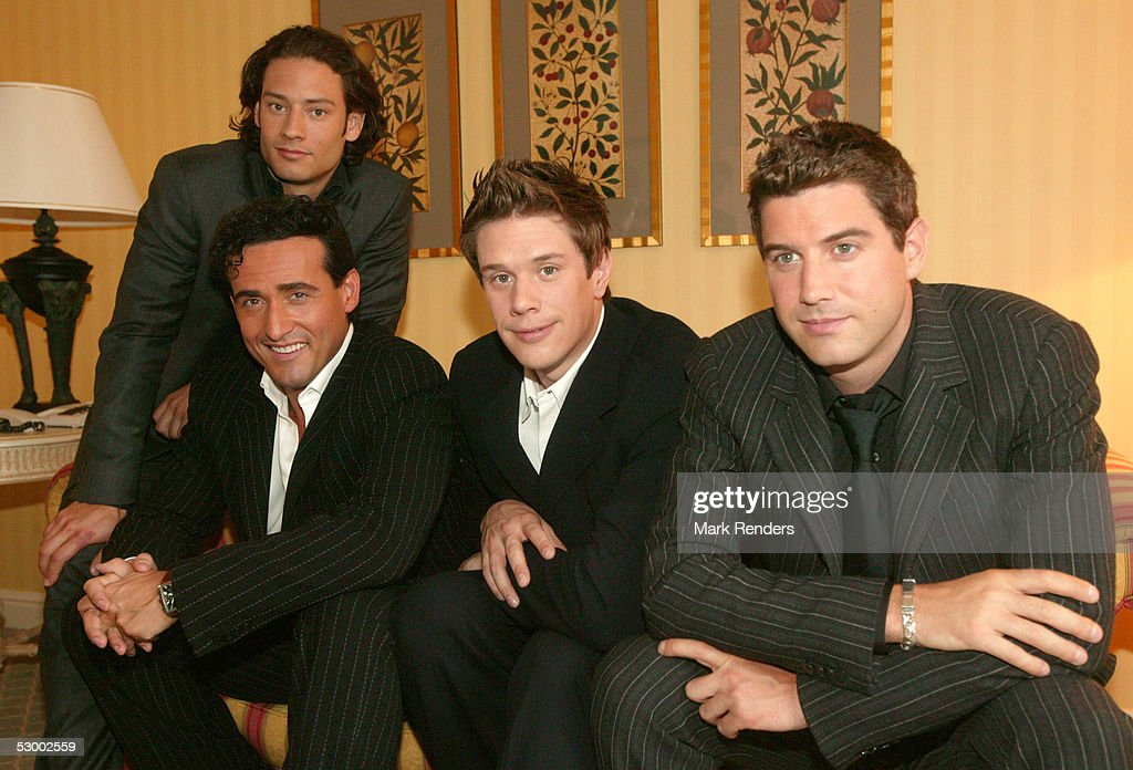 Music group il divo pose for a portrait in the brussels conrad hotel news photo getty images - Divo music group ...