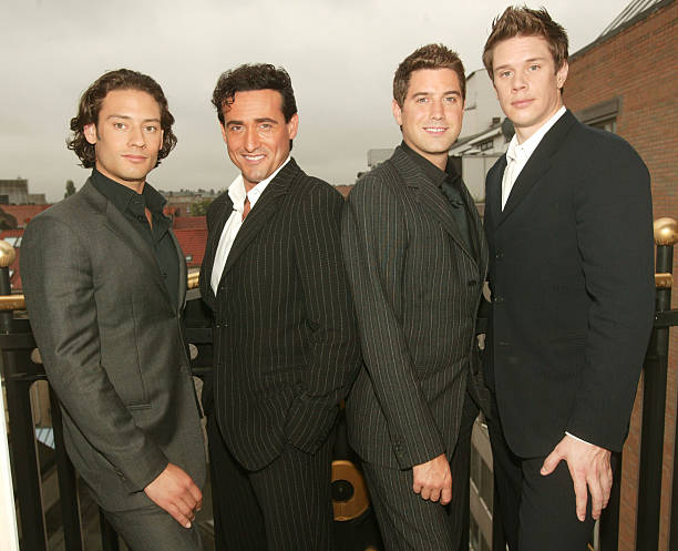 Il divo pose for portraits in brussels photos and images - Il divo music ...