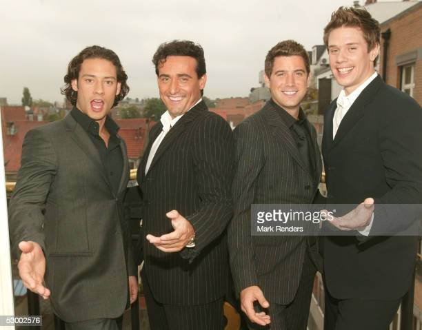 Il divo stock photos and pictures getty images - Il divo music ...