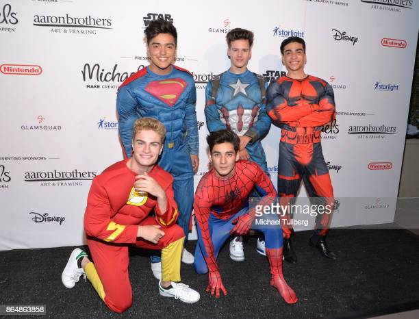 Music group In Real Life attends the Starlight Children's Foundation's Dream Halloween at The MacArthur on October 21 2017 in Los Angeles California