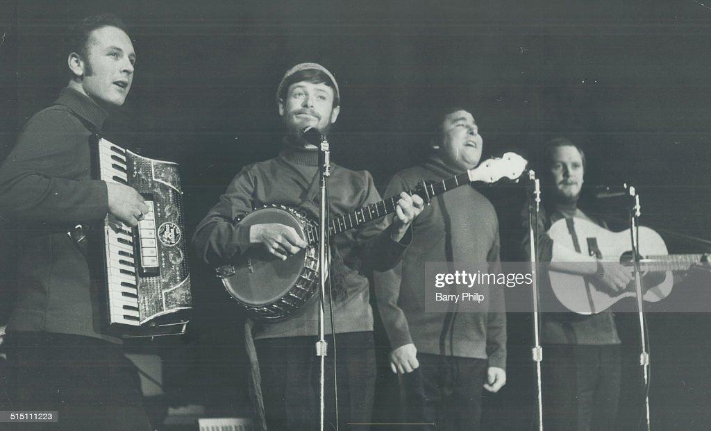 Music Group: Irish Rovers; The... : News Photo